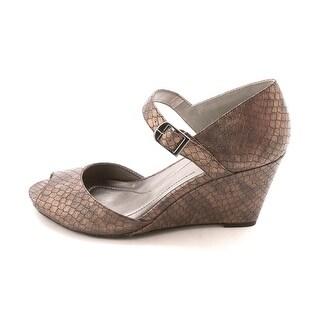 Style & Co Bessye Women Open Toe Wedge Heel