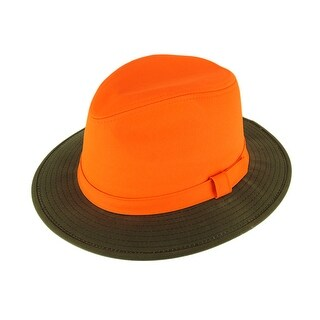 Outdoor Cap EX900 Blaze Orange / Tan Safari Hat
