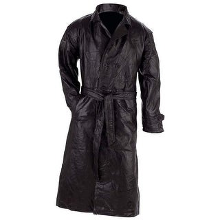 Link to Giovanni Navarre Italian Stone Design Genuine Leather Trench Coat Similar Items in Women's Outerwear
