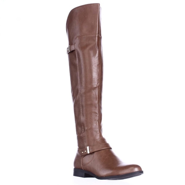 B35 Daphne Over The Knee Riding Boots, Banana Bread