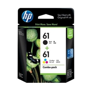Link to HP 61 Black and Tricolor Ink Cartridges CR259FN Combo 2/Pack - Multi-color Similar Items in Printers & Supplies