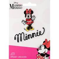 Minnie Mouse Body W/Script - Disney Mickey Mouse Iron-On Applique