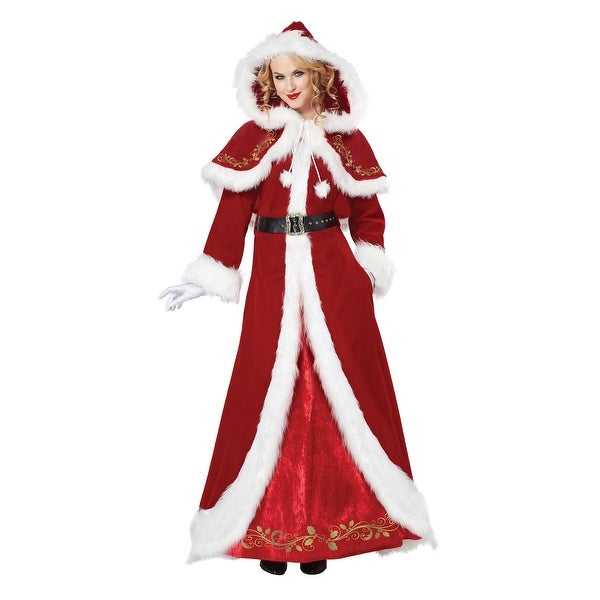 6946cd067b2 Shop Deluxe Classic Mrs. Claus Costume - Free Shipping Today - Overstock -  13054347