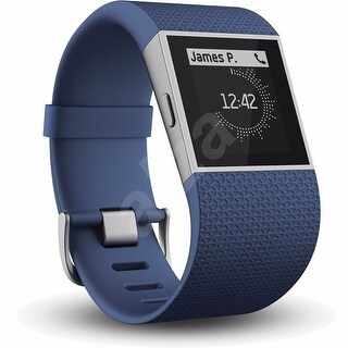 Fitbit Surge GPS Activity Tracking Watch Small, Blue