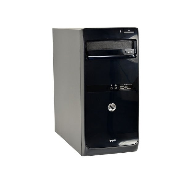 HP Pro 3500-T Core i5-3570 3.4GHz CPU 8GB RAM 500GB HDD DVD-RW Windows 10 Pro PC (Refurbished)