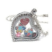 Heart Charm Locket for Autism