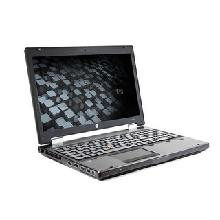 HP EliteBook 8560W Core i5-2540M 2.6GHz 12GB RAM 750GB HDD DVD-RW Windows 10 Pro 15.6-inch Workstation (Refurbished)