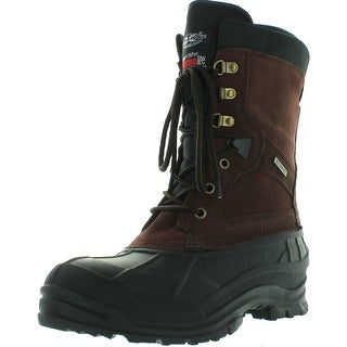 Climate X Mens Ysc8 Winter Boots - Brown