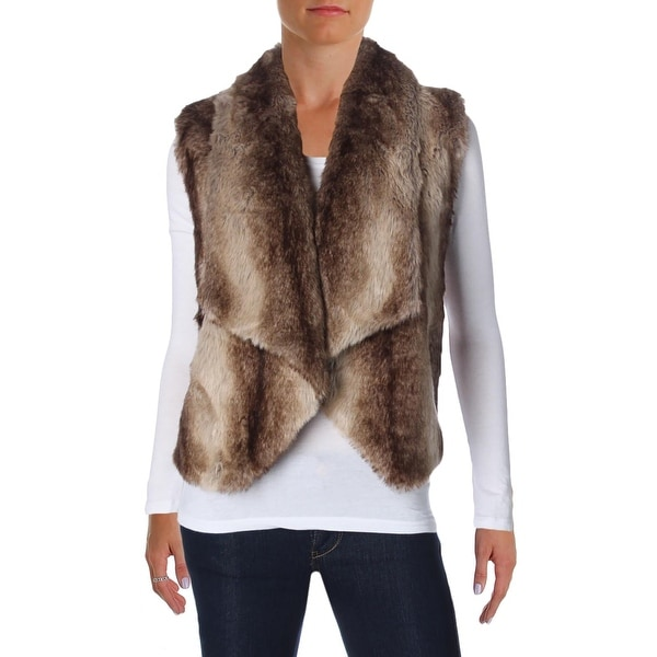 049db10427cda Shop Jack Womens Julius Vest Faux Fur Open Collar - Free Shipping On Orders  Over $45 - Overstock - 18393853