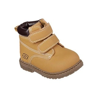 Skechers Infant/Toddler Boys' Lil Mecca Boot,Wheat,Us 2 M