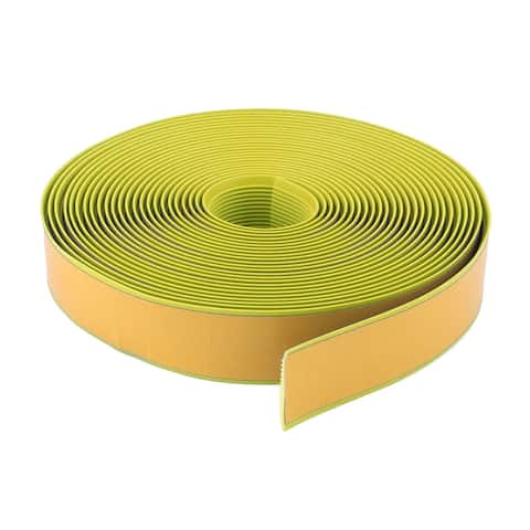 Living Room PVC Adhesive Anti Skid Stairs Ladders Tape Light Yellow 36.1 Ft