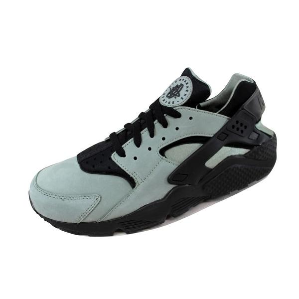 1e10b862de22 Nike Men  x27 s Air Huarache Run Premium Metallic Silver Metallic Silver-