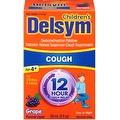 Delsym Children's 12 Hour Cough Suppressant, Grape Flavored Liquid 3 oz - Thumbnail 0