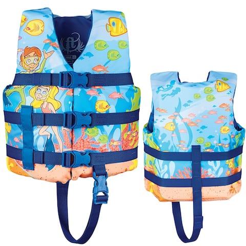 Full throttle child character life vest snorkle