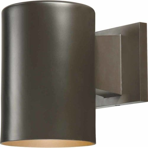 """Volume Lighting V9625 1 Light 7.25"""" Height Outdoor Wall Sconce with Metal Shade"""