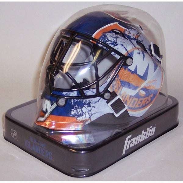 separation shoes ef583 cb4af NY New York Islanders Franklin Sports NHL Mini Goalie Mask