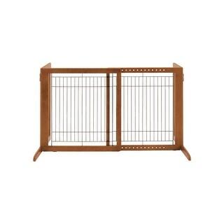 """Richell Freestanding Pet Gate HS Autumn Matte 28.3"""" - 47.2"""" x 23.6"""" x 27.6"""""""