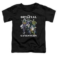Dc-Original Gangsters - Short Sleeve Toddler Tee - Black, Mediu