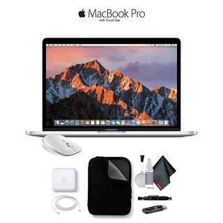 """Apple 13"""" MacBook Pro, Retina Display, 2.3GHz Intel Core i5 Dual Core, 8GB RAM, 256GB SSD, Silver, MPXU2LL/A"""