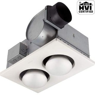 NuTone 9427P 70 CFM 3.5 Sone Ceiling Mounted Energy Star Rated and HVI Certified