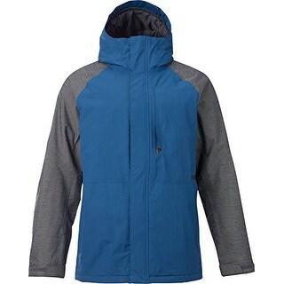 Burton Hilltop Jacket Men's - boro ripstop-heather gray block