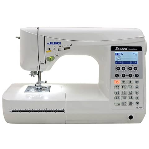 """Juki Exceed HZL F300 Home Deco Computerized Sewing Machine - 1"""" x 1"""" x 1"""""""