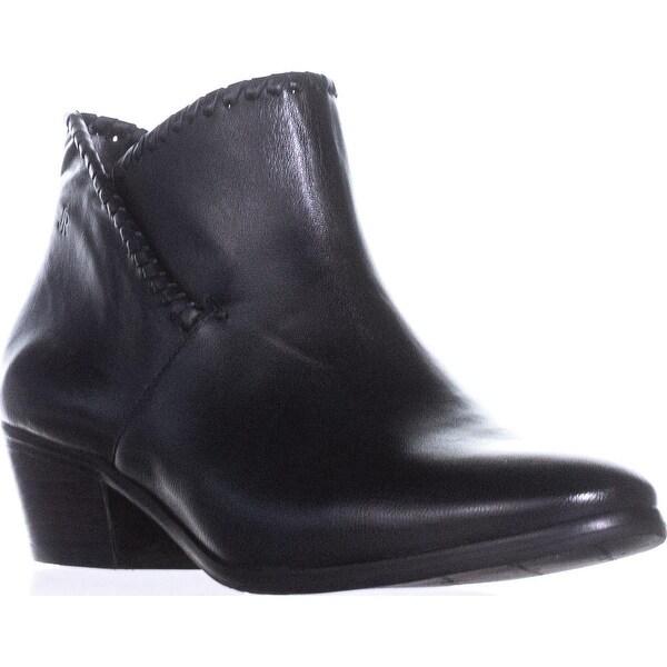 Jack Rogers Sadie Flat Ankle Boots, Black - 6 us