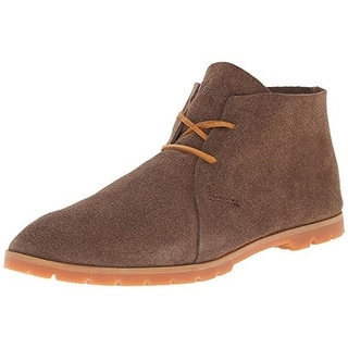 Woolrich Womens Lane Chukka Boots Suede Distressed