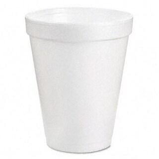 Dart 6J6 Drink Foam Cups- 6 oz.- White- 40 Bags of 25/Carton