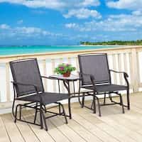 Deals on Havenside Home Sylvestere Outdoor 3-pc Chairs w/Table Set