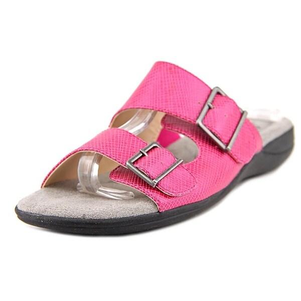 Life Stride Ellway Women W Open Toe Synthetic Pink Slides Sandal
