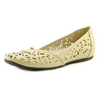 Easy Street Charlize Women W Round Toe Synthetic Flats