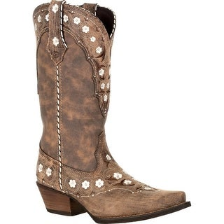 #DRD0362, Crush™ by Durango® Women's Floral Western Boot