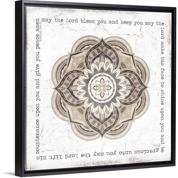 Shop Marla Rae Floating Frame Premium Canvas with Black Frame ...