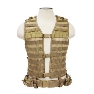 VISM® by NcSTAR® PALS/ MOLLE Vest [MED-2XL] - Tan