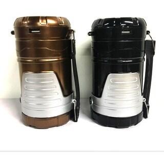 """KANSTAR Solar Powered Camping Lantern & Handheld Flashlight - 3"""" x 3"""" x 5"""""""
