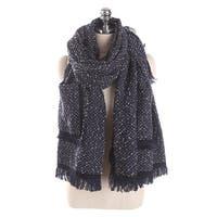 QZUnique Women's Sweater Shawl Cardigan Cloak Shawl Loose Poncho Cape