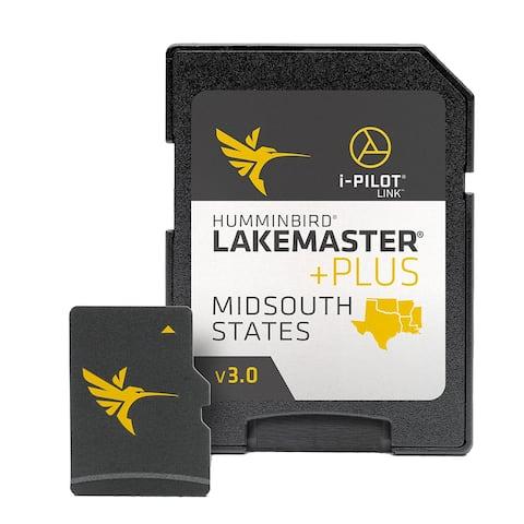 Humminbird LakeMaster PLUS Chart Mid-South States - Version 2 Map Card 600009-8