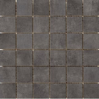 Emser Tile F45FACA1212MO2  Facade - Square Mosaic Floor and Wall Tile - Matte Concrete Visual