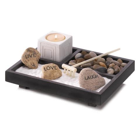 "Tabletop Zen Garden Kit 7x6.25x2.25"""