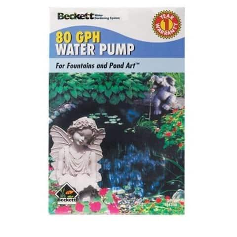 Beckett 7300110 80 Gallon Pond & Fountain Pump