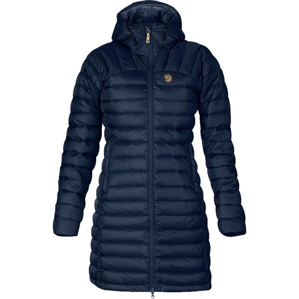 Fjallraven Womens Snow Flake Parka Coat Winter Down - Dark Navy - XXS. Opens flyout.