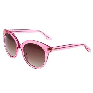 Bertha Violet Women's Acetate Sunglasses - 100% UVA/UVB Prorection - Polarized Lens - Multi