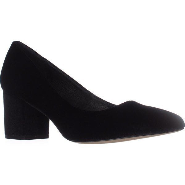 STEVEN Steve Madden Bambu Dress Pumps, Black Velvet