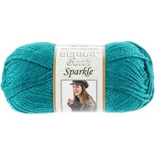 Satin Sparkle Yarn-Emerald