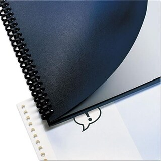 Leather Look Binding System Covers, 11.25 x 8.75,