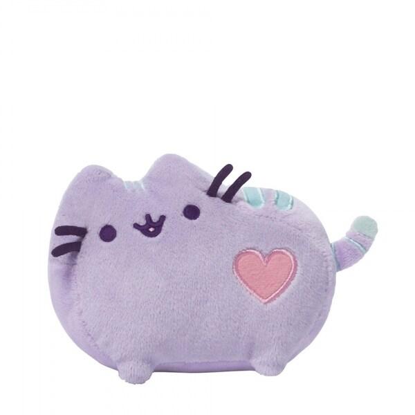 """Pusheen The Cat 6"""" Plush: Pastel Purple - multi"""