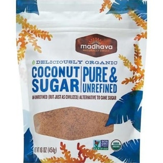 Madhava Honey - Coconut Sugar ( 6 - 16 oz bags)