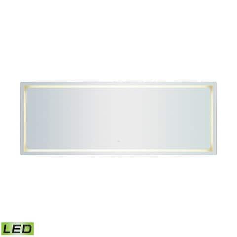 26x70 Inch Full-Length LED Mirror Silver Finish