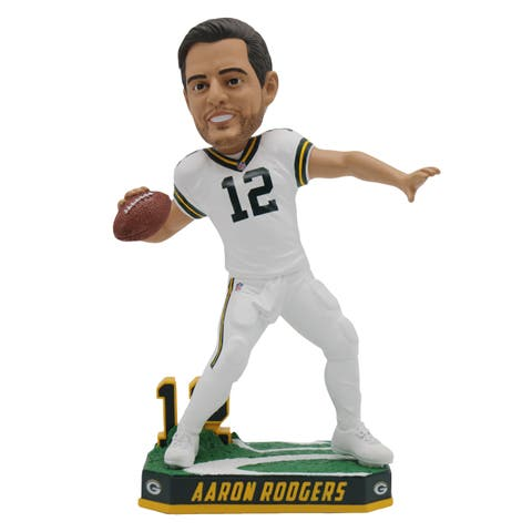 """Green Bay Packers Aaron Rodgers Color Rush Jersey 8"""" Bobblehead - Multi"""